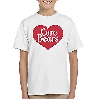 Care Bears Love Heart Logo Kid's T-paita