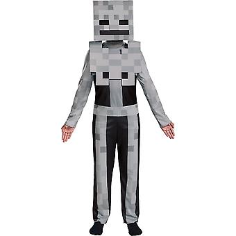 Boys Minecraft Skeleton Costume