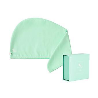 Dock & bay hair wrap - quick dry hair towel - daintree green