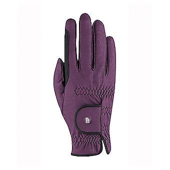 Roeckl Malta Womens Winter Riding Gloves - Grape Wine