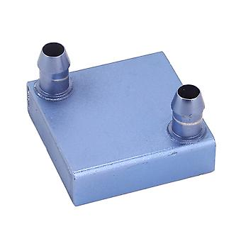 40x40x12mm Cooling Block For CPU Radiator Cooler Heatsink Blue