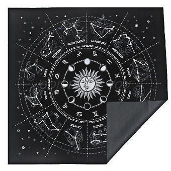 12 Sternbilder Tarot Karte Tischdecke samt Wahrsagerei Altar Tuch Board