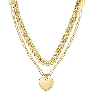 Woman's Necklace Go Miss Jewelry - BIJOUX FANTAISIE COLLIER DOUBLE RANG