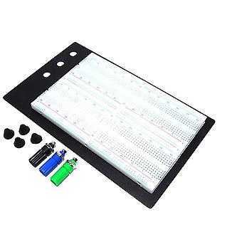 1660pt White Solderless Breadboard