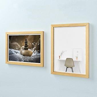 Seinäkiinnitys Magneettinen TarraKehys Kuvanpidin Puinen valikko Kuvakehys