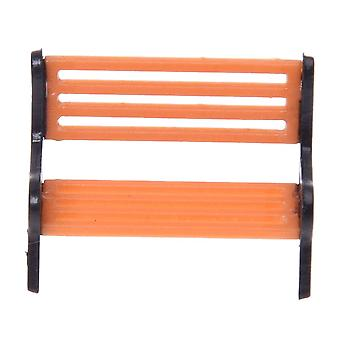 Model Train Platform/park Street Seat/bench Chair Settee 1:50  Mini Garden