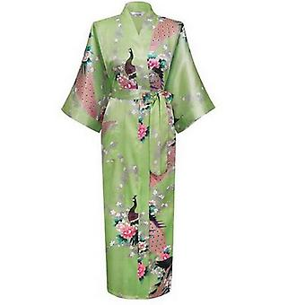 الحرير كيمونو روب الحمام المرأة الساتان رداء الحرير الجلباب ليلة مثير