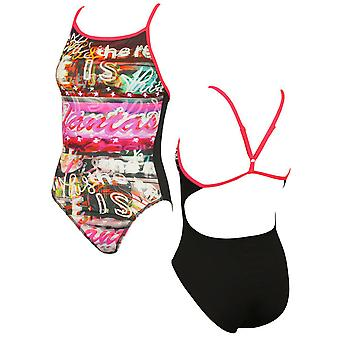 Maru Womens Queen Swimming Costume Pacer Back Swimsuit FS6070 RW130