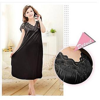 المرأة الدانتيل ثوب النوم مثير زائد حجم كبير الحجم ملابس النوم ملابس النوم ثوب النوم