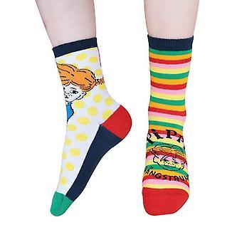 Oma Pippi Socken 2 st Martinex