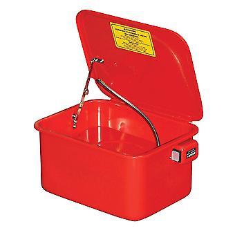 BikeTek 3.5 Gallon Parts Washer - UK 3 Pin Plug