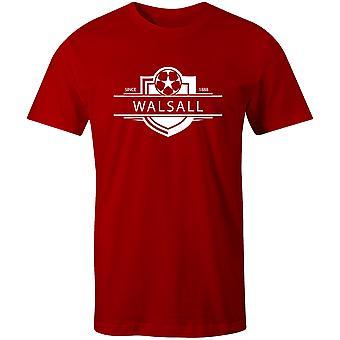 Walsall 1888 أنشئت شارة كرة القدم تي شيرت