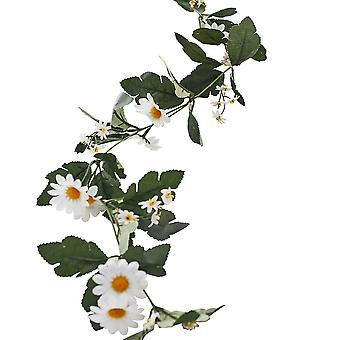 Decorative Artificial Daisy Floral Easter Wedding Garland 1.8m
