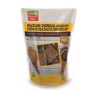 Snack Mini crunchy bread with amaranth and chia seeds - Hispanic sage 110 g
