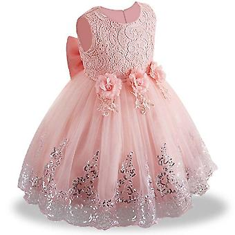 Elegant Wedding Party Princess Sequin Dresses For Baby