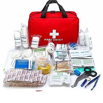 Draagbare medium lege huishouden meerlaagse EHBO-kit pouch