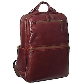 Ashwood Leather Jordan Business Rugzak - Chestnut Brown