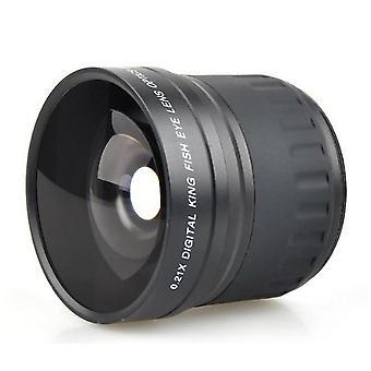 52mm 0.21x عدسة فيش عدسة الإضافة على عدسة واسعة الزاوية الترا