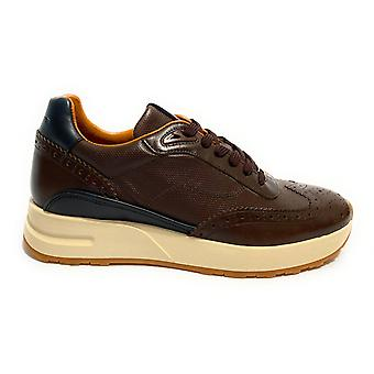 Pantofi pentru barbati Ambitioasa 9809b Sneaker Running Color Moro Head U21am27