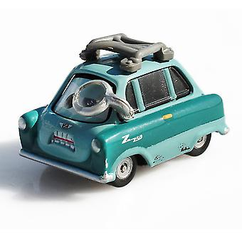 Cars Professor Z Bad Guy Dr. Z Alloy Children's Cartoon Toy Racer Model