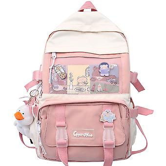 Cute girl high-capacity school backpack for middle school students