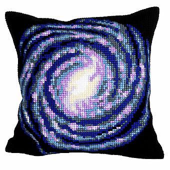 Collection d'Art Cross Stitch Kit: Cushion: Vortex
