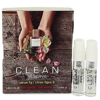 Clean Reserve Citron Fig by Clean Vial Set Includes Citron Fig and Sel Santal .05 oz