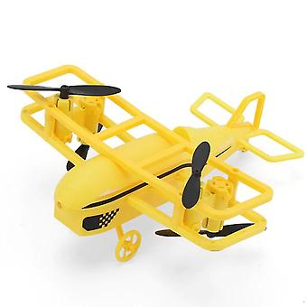 Intelligent Altitude Hold RC Mini Helicopters(Yellow)