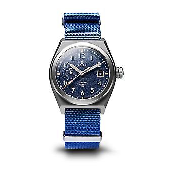 BOLDR Venture Wayfarer Blue Automatic Wristwatch