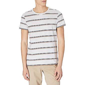 TOM SKRÄDDARE Denim 1023831 Multi-Stripe T-Shirt, 25898-Vit Tricolor Garn, XL Herr