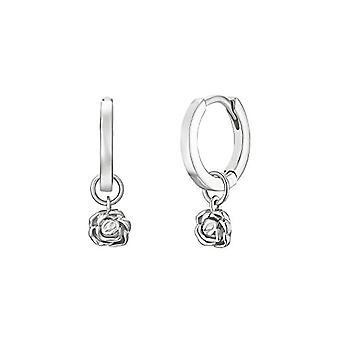 NOELANI Silver Hoop Earrings 925(9)