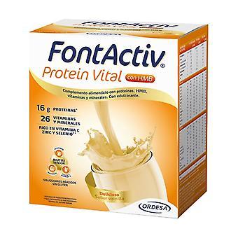 Fontactiv Vital Protein Vanilla 14 packets