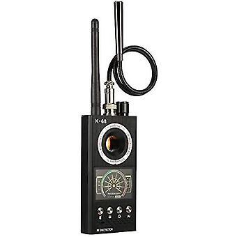 RF الماسح الضوئي كاشف مكافحة التجسس اللاسلكية RF إشارة كاشف كاميرا جاسوس مكتشف علة كاشف الشوائب واي فاي إشارة GPS راديو جهاز الهاتف مكتشف حماية الأمن الخاص (أسود)
