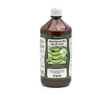 Aloe Verum orgaanisella vihreällä teellä 1 L