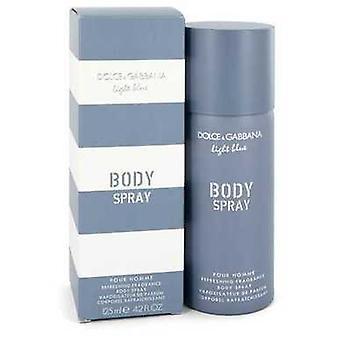 Light Blue By Dolce & Gabbana Body Spray 4.2 Oz (men) V728-547365