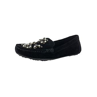 Isaac Mizrahi Live Women Alexa Suede Moccasin Shoes