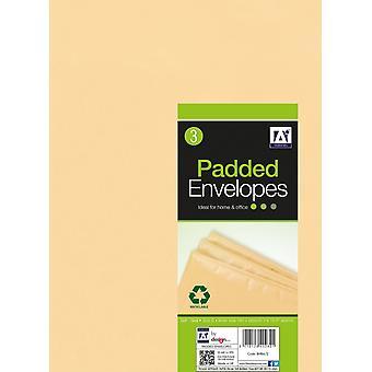 Anker Padded Brown Envelopes 200 x 275 Pack 3