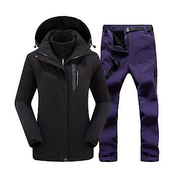 Winter Ski Suit, Windproof Warm Snow Trousers