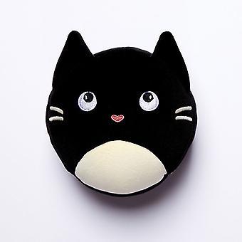 Relaxeazzz Feline Fine Cat Runde Travel Pillow &eye maske