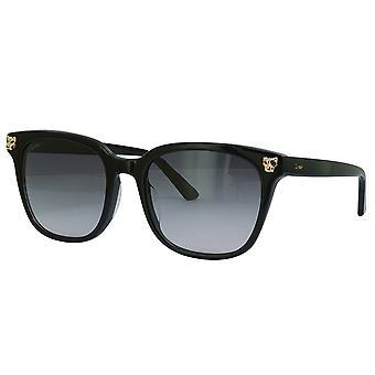 Cartier CT0143SA 001 Black/Grey Sunglasses