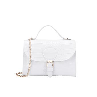 Top Handle Bag With Flap