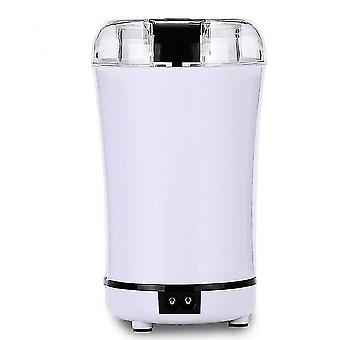 Electric Grinder, Household Small Flour Mill, Coffee Bean Dry Grinder, Grain Grinder(White)