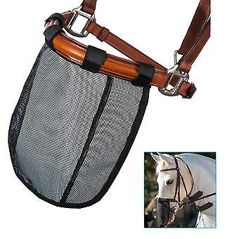 Mesh hest næse maske åndbar aftagelig flyve maske myg bevis hest ansigt dække rytter suppl