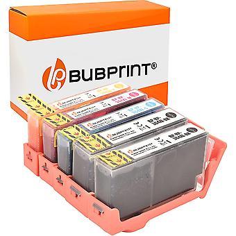 5 Druckerpatronen kompatibel für HP 364XL für DeskJet D5460 PhotoSmart 7510 7520 e-All-in-One B8550