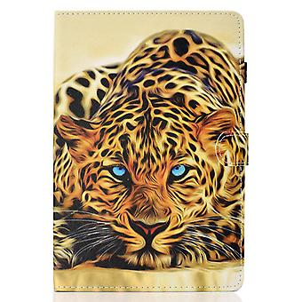 Case For Ipad 5 9.7 2017 Cover With Auto Sleep/wake Pattern Magnetic - Lion