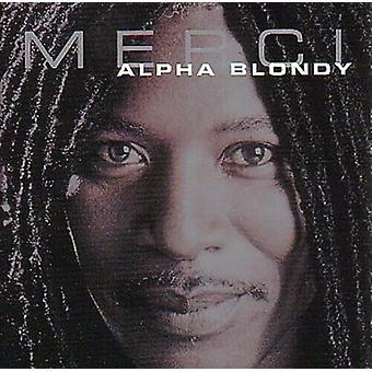 Alpha Blondy Merci CD