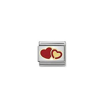 Nimitys Italia composable link hearts 030253_29
