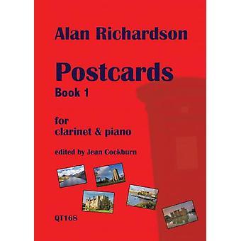 Postcards Book 1 For Clarinet & Piano Alan Richardson