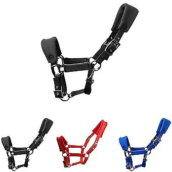 Double Layered Fleece Padded Horse Halter Practical Adjustable Strap