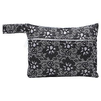Nieuwe maandverband pouch mini vouwen vrouwen schattige tas voor pakkingen servet handdoek